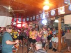 Full house with Cycle Zydeco!