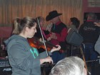 Mary Tweedel on Fiddle
