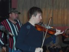 Travis Benoit  on Fiddle and David Rayon, Sound man