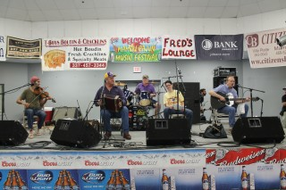 David Fontenot and Friends on Festival Stage