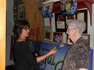 Eve Troeh from WWNO interviews Tante Sue from Fred's