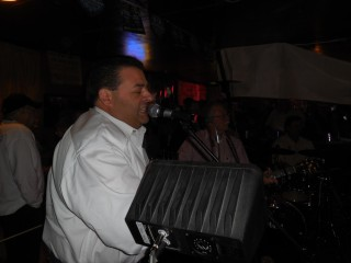 Richard LeBouef sits in with the Lafayette Rhythum Devils