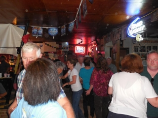 Nice Crowd at Fred's Lounge Saturday