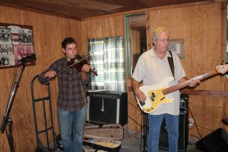 Fiddle Player and Bass Player