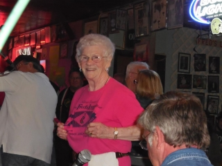 Tante Sue, the First Lady at Fred's Lounge